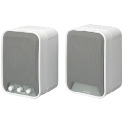 Epson ELP-SP02 2.0 Speaker System - 30 W RMS - White, Grey