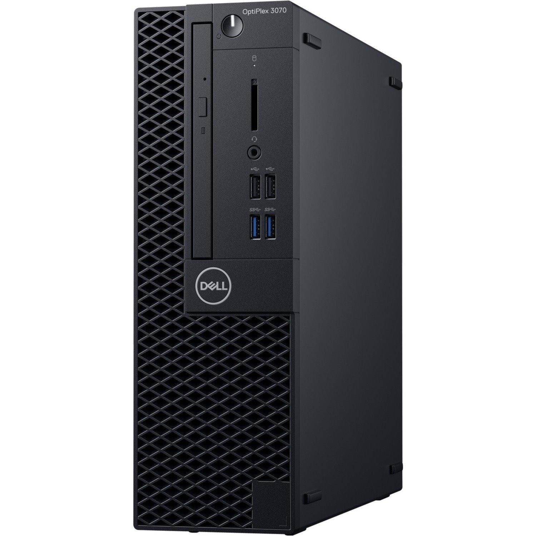 Dell OptiPlex 3000 3070 Desktop Computer - Intel Core i5 9th Gen i5-9500 3 GHz - 8 GB RAM DDR4 SDRAM - 1 TB HDD - Small Form Factor