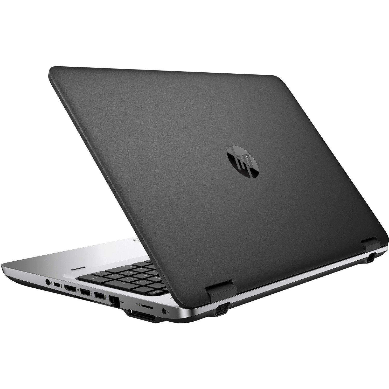 "HP ProBook 650 G2 39.6 cm (15.6"") Notebook - Intel Core i5 (6th Gen) i5-6200U Dual-core (2 Core) 2.30 GHz - 8 GB DDR4 SDRAM - 256 GB SSD - Windows 10 Pro 64-bit downgradable to Windows 7 Professional - 1366 x 768"