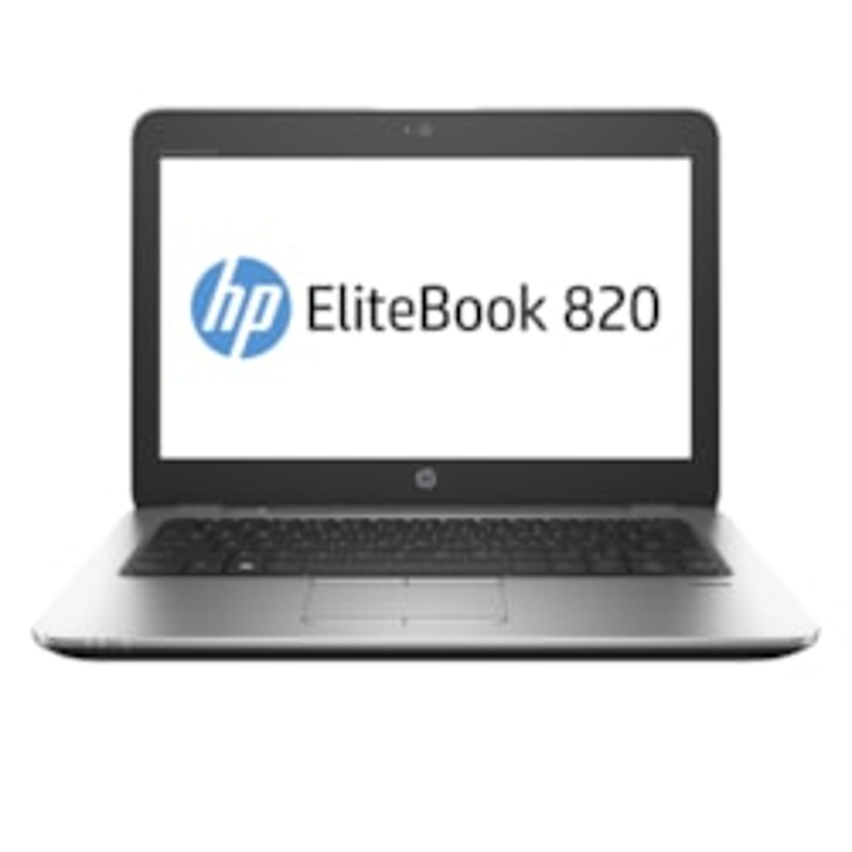 "HP EliteBook 820 G3 31.8 cm (12.5"") Notebook - Intel Core i5 (6th Gen) i5-6300U Dual-core (2 Core) 2.40 GHz - 8 GB DDR4 SDRAM - 256 GB SSD - 1366 x 768 - Silver, Black"