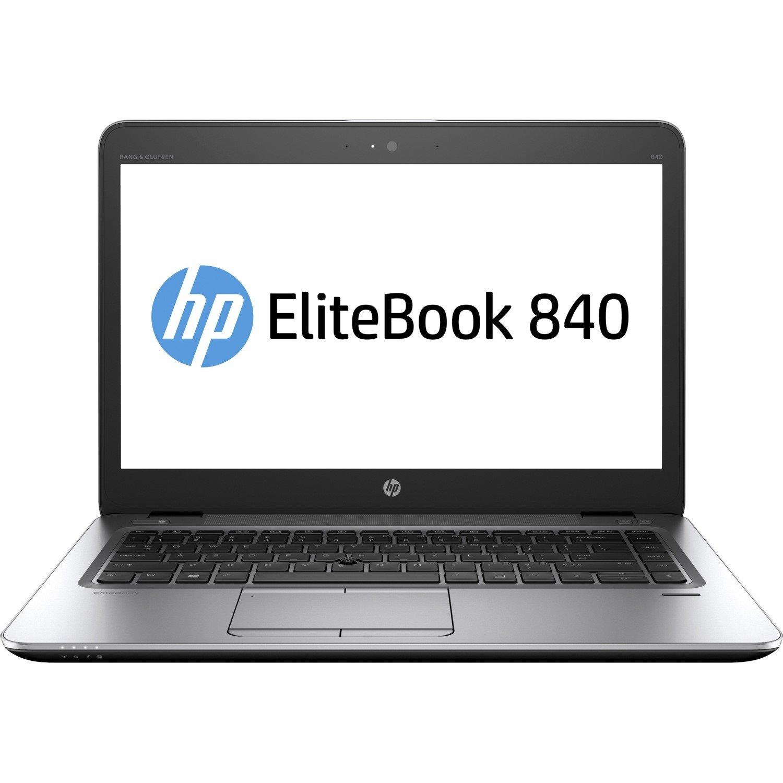 "HP EliteBook 840 G3 35.6 cm (14"") Notebook - Intel Core i5 (6th Gen) i5-6300U Dual-core (2 Core) 2.40 GHz - 4 GB DDR4 SDRAM - 500 GB HDD - 1920 x 1080 - Black, Silver"