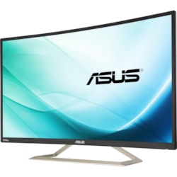 "Asus VA326H 80 cm (31.5"") Full HD Curved Screen LED LCD Monitor - 16:9 - Black"