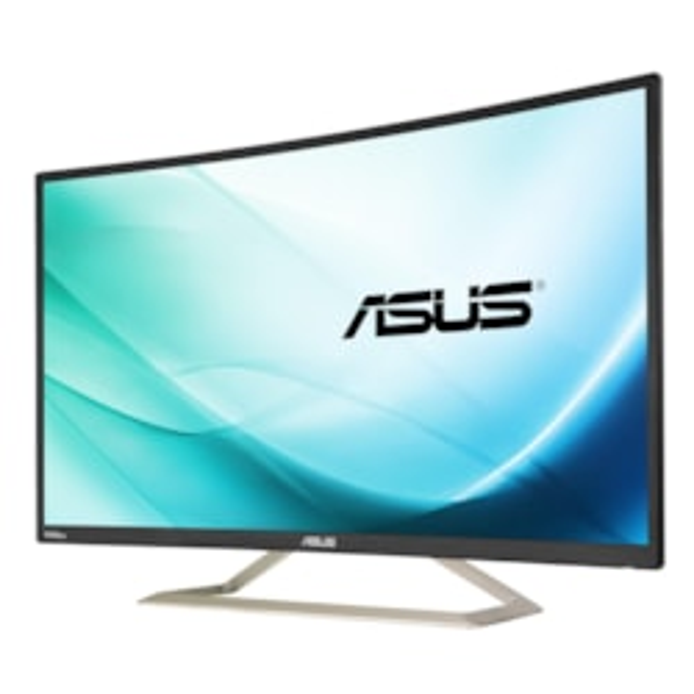 "Asus VA326H 80 cm (31.5"") Full HD Curved Screen LED LCD Monitor - 16:9 - Black"