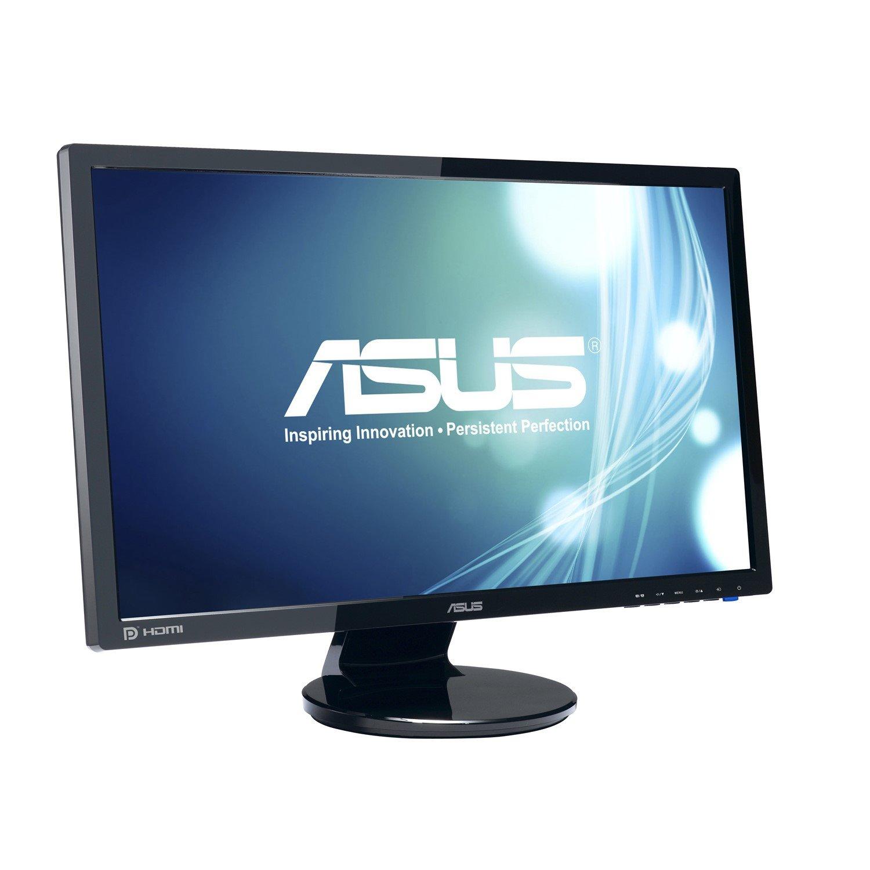 """Asus VE248HR 61 cm (24"""") Full HD LED LCD Monitor - 16:9 - Black"""