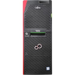 Fujitsu PRIMERGY TX1330 M2 4U Tower Server - 1 x Intel Xeon E3-1220 v5 Quad-core (4 Core) 3 GHz - 8 GB Installed DDR4 SDRAM - Serial ATA Controller - 0, 1, 10 RAID Levels - 1 x 450 W