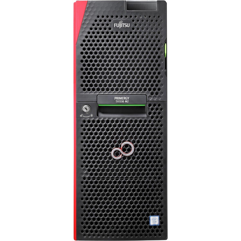 Fujitsu PRIMERGY TX1330 M2 4U Tower Server - 1 x Xeon E3-1220 v5 - 8 GB RAM HDD SSD - Serial ATA Controller