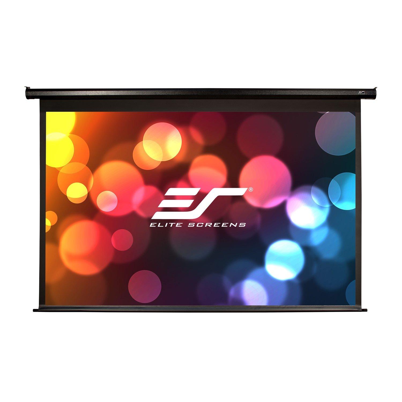 "Elite Screens 150"" Motorised 16:9 Projector Screen, Ir & RF Control, Black 12V Trigger & Switch, Vmax2"