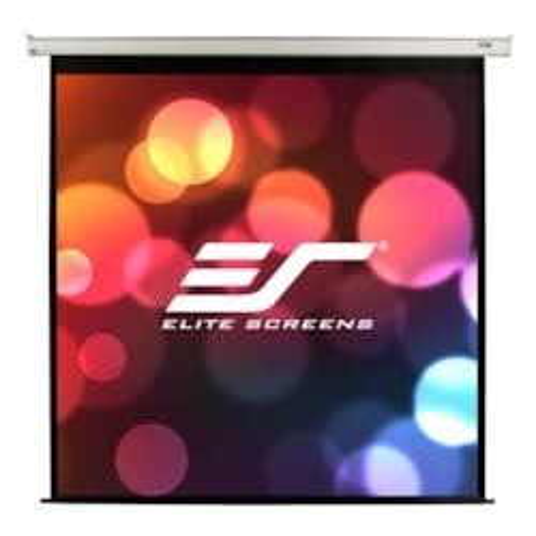 "Elite Screens 150"" Motorised 16:9 Projector Screen, Ir & RF Control, White 12V Trigger & Switch, Vmax2"