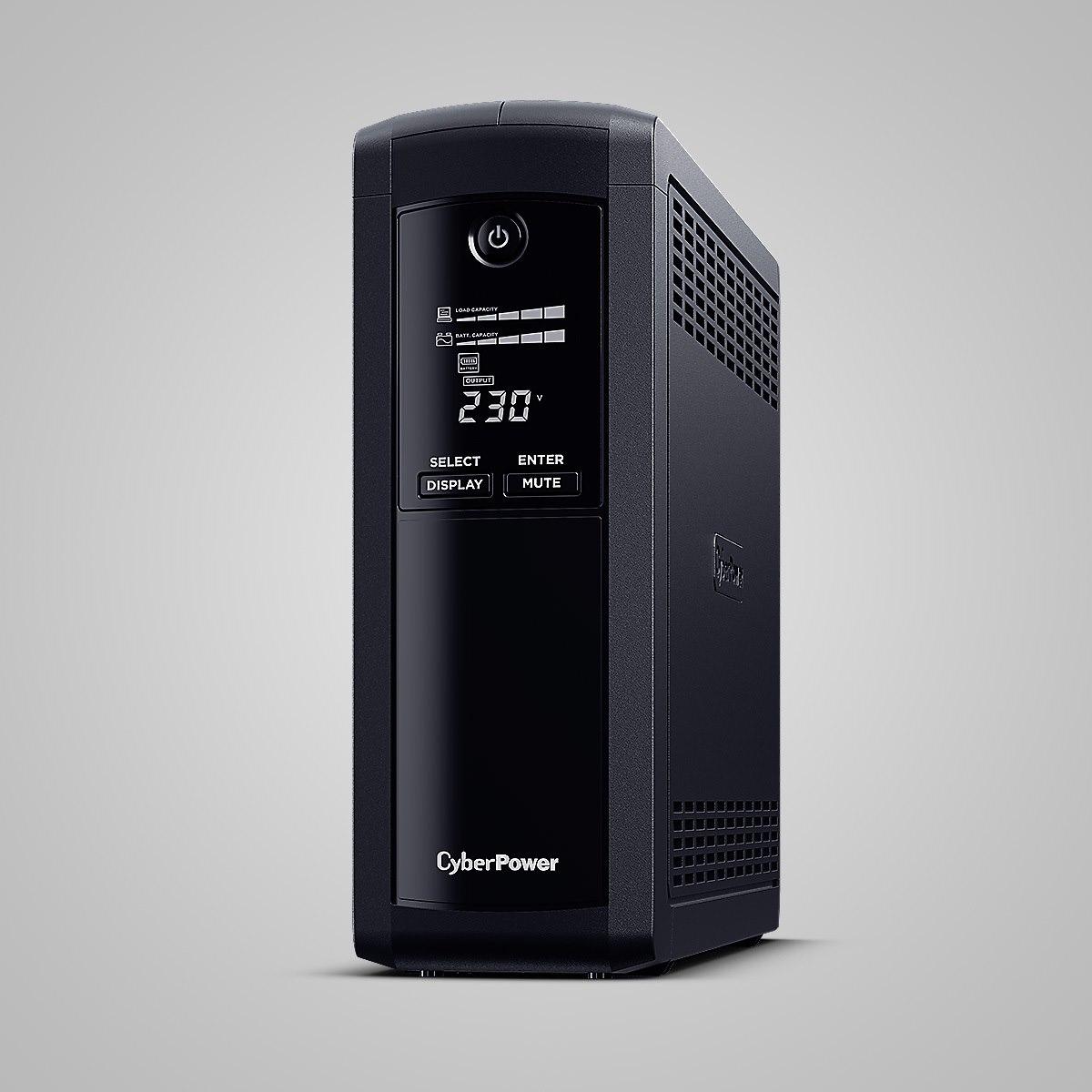 CyberPower Value Pro VP1600ELCD Line-interactive UPS - 1.60 kVA/960 W