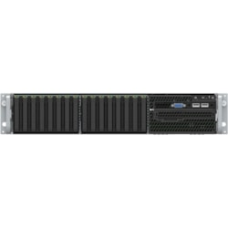 Intel Server System VRN2208WFAF83 2U Rack Server - 1 x Xeon Gold 6152 - 32 GB RAM HDD - 2 TB SSD - Serial ATA Controller