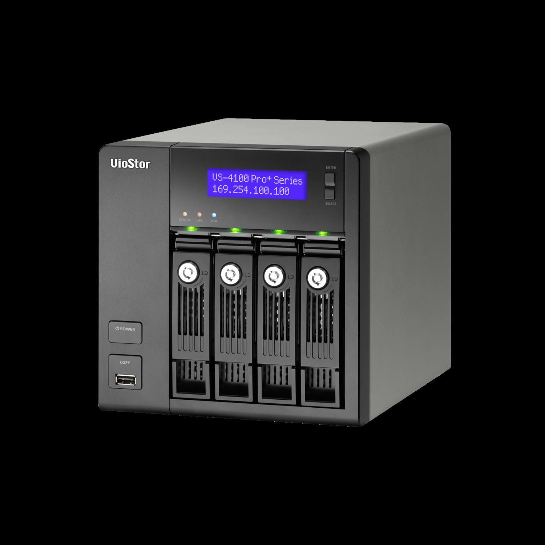 QNAP VioStor VS-4108-PRO+ 8 Channel Wired Video Surveillance Station