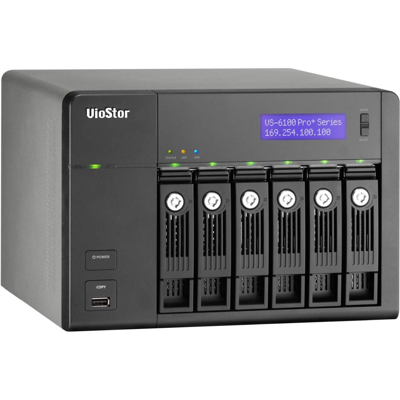 QNAP VioStor VS-6112 Pro+ Video Surveillance Station