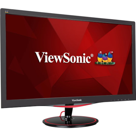 "Viewsonic VX2458-mhd 59.9 cm (23.6"") Full HD LED LCD Monitor - 16:9 - Black Red"