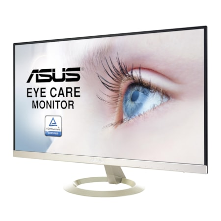 "Asus VZ27AQ 68.6 cm (27"") WQHD LED LCD Monitor - 16:9 - Black, Icicle Gold"