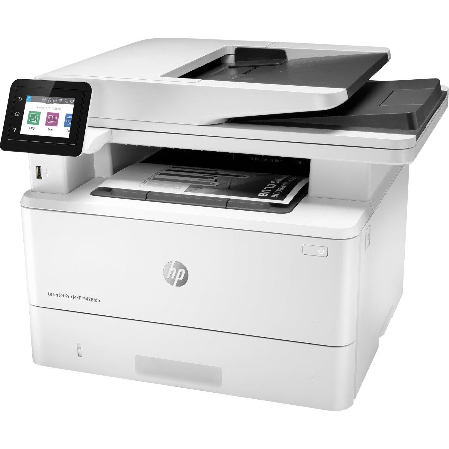 HP LaserJet Pro M428f M428fdn Laser Multifunction Printer - Monochrome