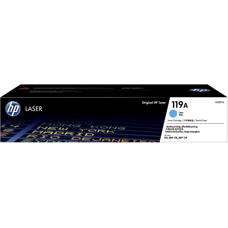 HP 119A Toner Cartridge - Cyan
