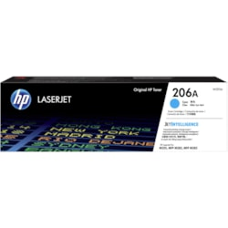 HP 206A Original Toner Cartridge - Cyan