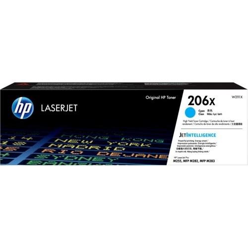 HP 206X Toner Cartridge - Cyan