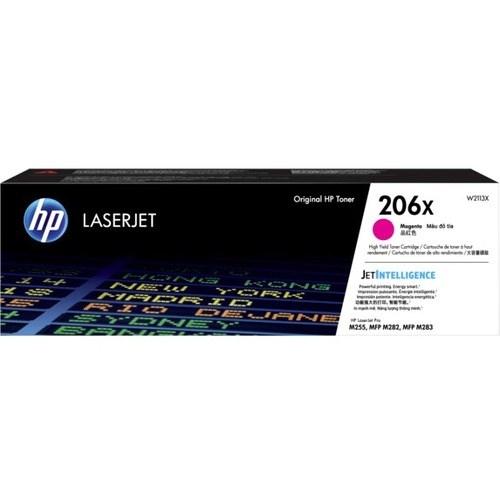 HP 206X Toner Cartridge - Magenta