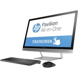 "HP Pavilion 24-b000 24-b015a All-in-One Computer - Intel Core i5 (6th Gen) i5-6400T 2.20 GHz - 8 GB - 1 TB HDD - 60.5 cm (23.8"") 1920 x 1080 Touchscreen Display - Windows 10 Home 64-bit - Desktop"