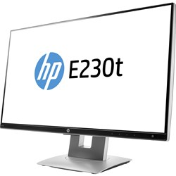 """HP Business E230t 58.4 cm (23"""") LCD Touchscreen Monitor - 16:9 - 5 ms"""