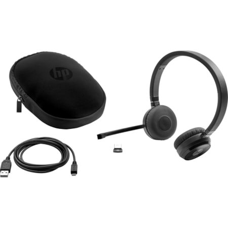 HP Wireless Bluetooth Stereo Headset - Over-the-head - Supra-aural