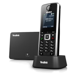 Yealink W52P IP Phone - DECT - Desktop, Wall Mountable