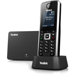 Yealink W52P IP Phone - Cordless - DECT - Desktop, Wall Mountable