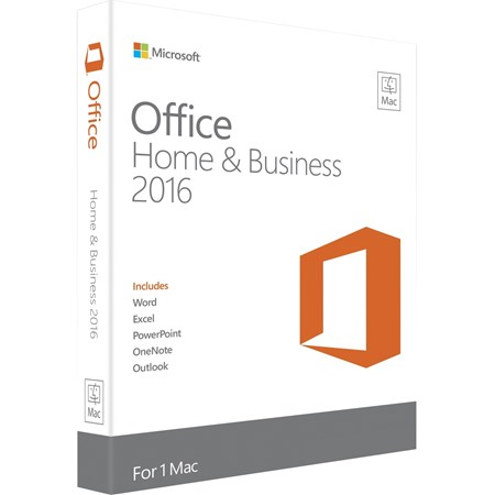 Microsoft Office 2016 Home & Business - 1 License