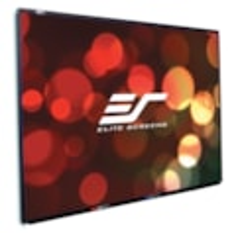 "Elite Screens WhiteBoardScreen WB77VW Fixed Frame Projection Screen - 195.6 cm (77"") - 4:3 - Wall Mount"