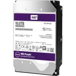 "WD Purple WD100PURZ 10 TB Hard Drive - SATA (SATA/600) - 3.5"" Drive - Internal"