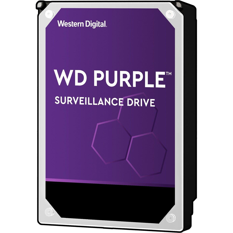 """WD Purple WD101PURZ 10 TB Hard Drive - 3.5"""" Internal - SATA (SATA/600)"""