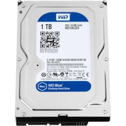 "WD Blue WD10EZEX 1 TB Hard Drive - 3.5"" Internal - SATA (SATA/600)"