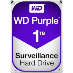 "WD Purple WD10PURZ 1 TB Hard Drive - 3.5"" Internal - SATA (SATA/600)"