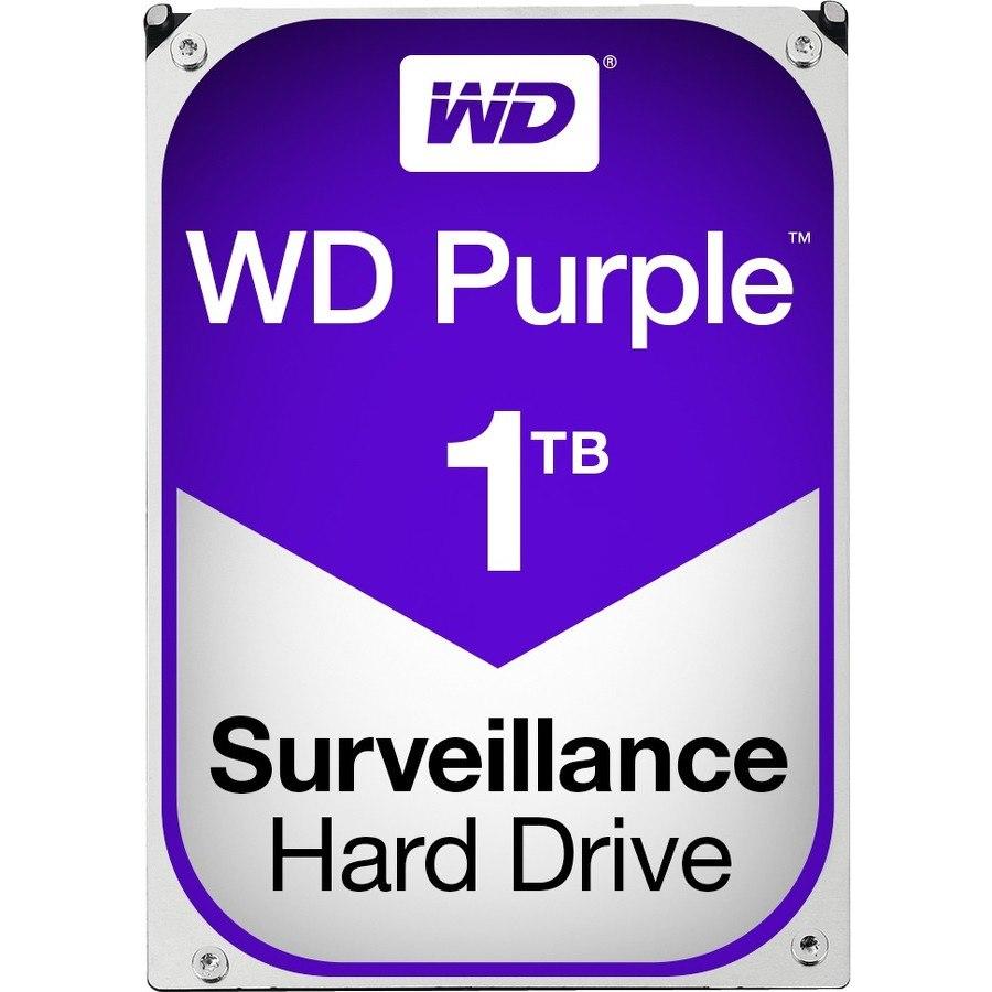 """WD Purple WD10PURZ 1 TB Hard Drive - SATA (SATA/600) - 3.5"""" Drive - Internal"""