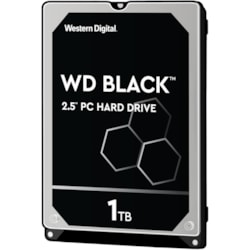 "WD Black WD10SPSX 1 TB Hard Drive - 2.5"" Internal - SATA (SATA/600)"