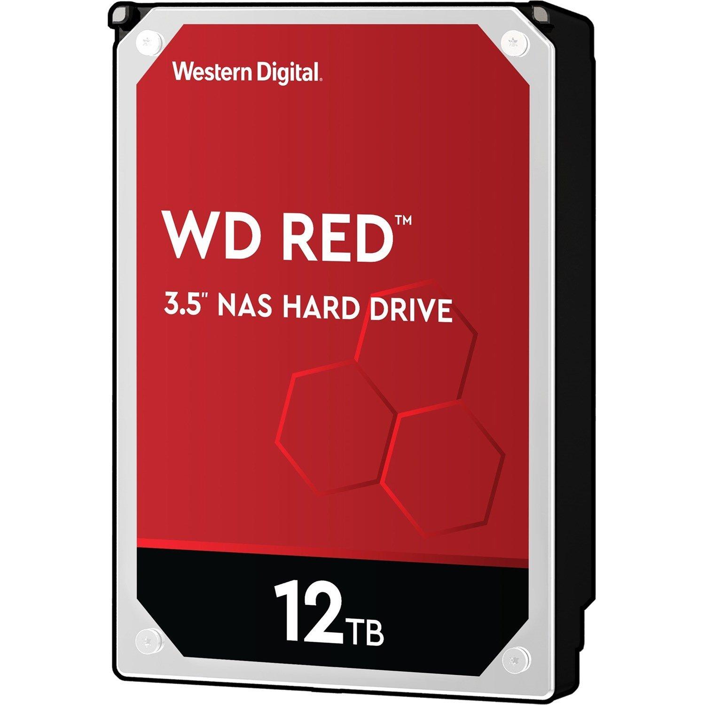 """WD Red WD120EFAX 12 TB Hard Drive - 3.5"""" Internal - SATA (SATA/600)"""