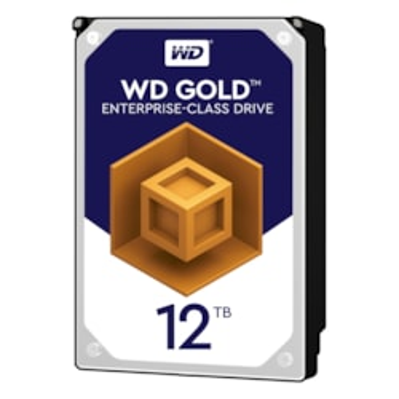 """WD Gold WD121KRYZ 12 TB Hard Drive - SATA (SATA/600) - 3.5"""" Drive - Internal"""