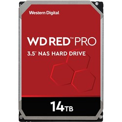 "WD Red Pro WD141KFGX 14 TB Hard Drive - 3.5"" Internal - SATA (SATA/600)"