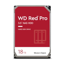 "WD Red Pro WD181KFGX 18 TB Hard Drive - 3.5"" Internal - SATA (SATA/600)"