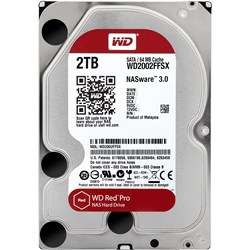 "WD Red Pro WD2002FFSX 2 TB Hard Drive - 3.5"" Internal - SATA (SATA/600)"