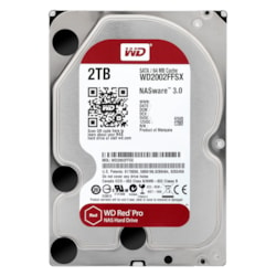 "WD Red Pro 2 TB Hard Drive - SATA (SATA/600) - 3.5"" Drive - Internal"