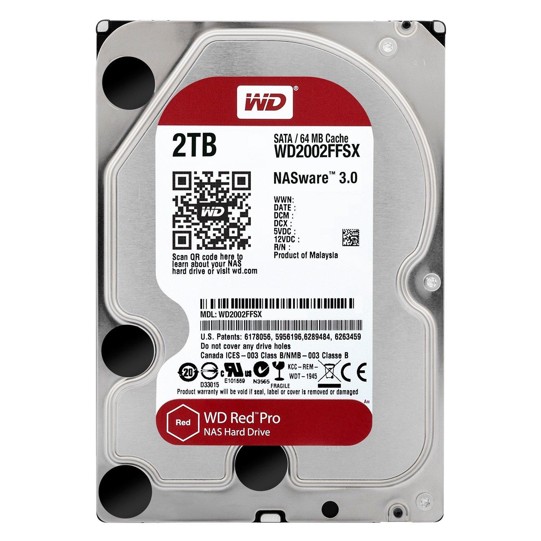 """WD Red Pro 2 TB Hard Drive - SATA (SATA/600) - 3.5"""" Drive - Internal"""