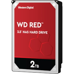 "WD Red WD20EFAX 2 TB Hard Drive - SATA (SATA/600) - 3.5"" Drive - Internal"