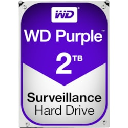 "WD Purple WD20PURZ 2 TB Hard Drive - SATA (SATA/600) - 3.5"" Drive - Internal"