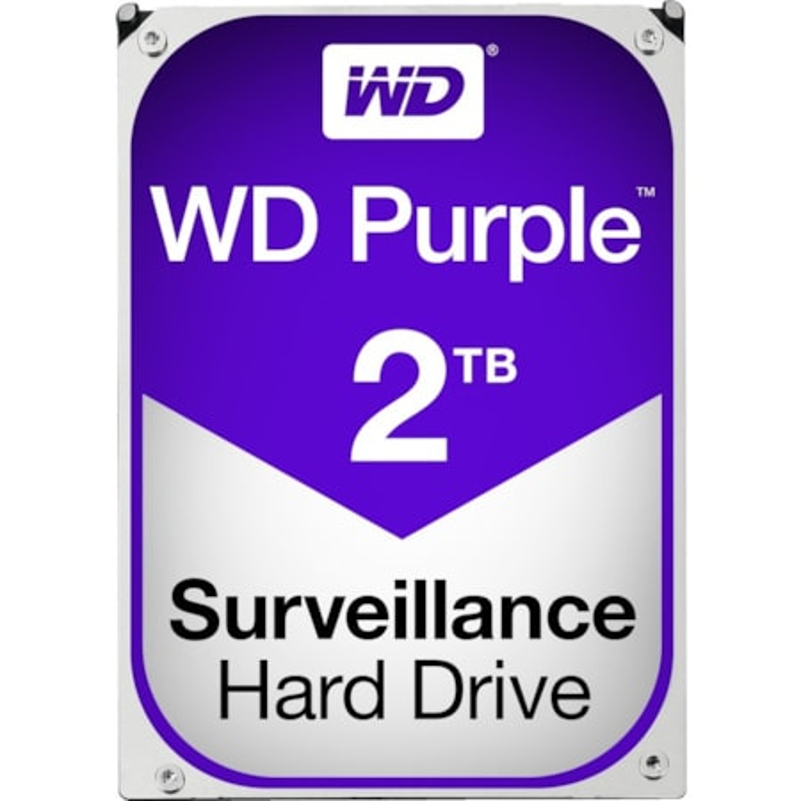"""WD Purple WD20PURZ 2 TB Hard Drive - SATA (SATA/600) - 3.5"""" Drive - Internal"""