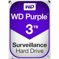 "WD Purple WD30PURZ 3 TB Hard Drive - SATA (SATA/600) - 3.5"" Drive - Internal"