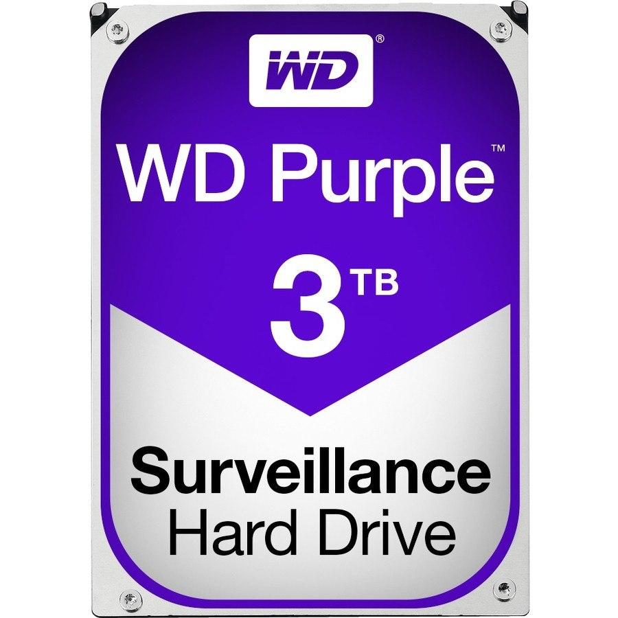 """WD Purple WD30PURZ 3 TB Hard Drive - SATA (SATA/600) - 3.5"""" Drive - Internal"""