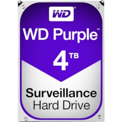 "WD Purple WD40PURZ 4 TB Hard Drive - SATA (SATA/600) - 3.5"" Drive - Internal"
