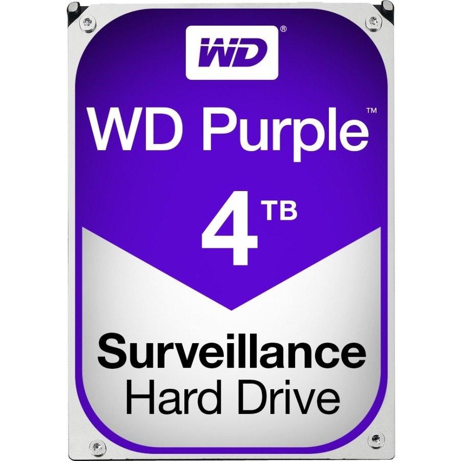 """WD Purple WD40PURZ 4 TB Hard Drive - SATA (SATA/600) - 3.5"""" Drive - Internal"""